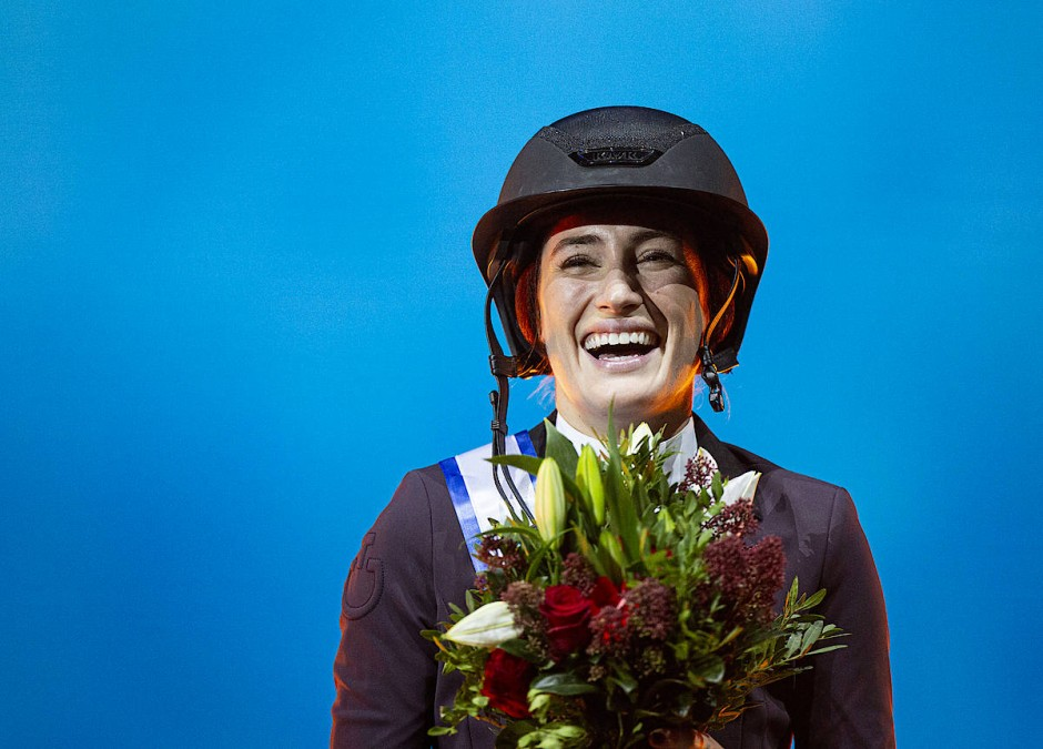 Mit Blick auf Olympia: Jessica Springsteen ist eine erfolgreiche Springreiterin.