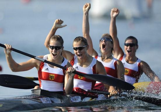 Kanu Olympisches Zeichen Kappe Entferner Rafting Rapids Sport Leichtathletik Neu