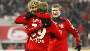 Kroos schießt Leverkusen zur Herbstmeisterschaft