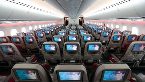 Beim Jet, der von Boston nach Tokio fliegen sollte, gab es ein Treibstoffleck