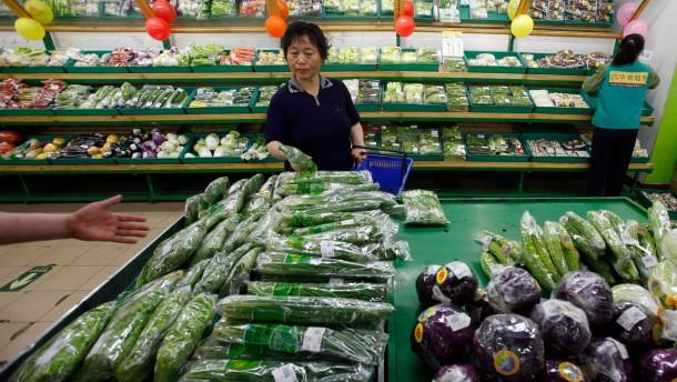 Inflation in China steigt stärker als erwartet