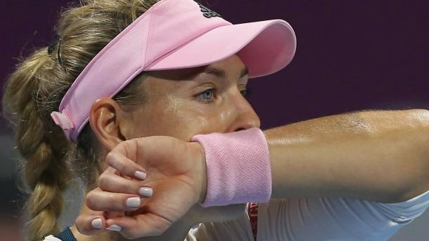 Kerber verpasst das Finale von Doha