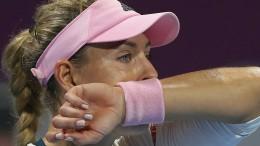 Kerber verpasst erstes Finale seit Wimbledon
