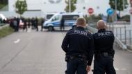 Flüchtlinge in Heidenau von Jugendlichen angegriffen