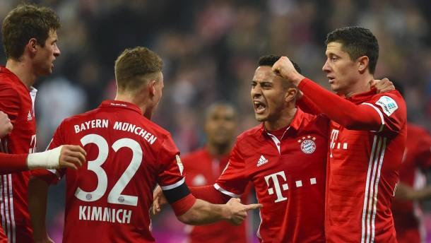 Die Bayern wollen sich für Leipzig warmspielen