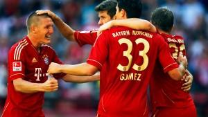 Vierfachschütze Gomez lässt die Bayern feiern