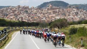 Unfall überschattet Giro-Etappe