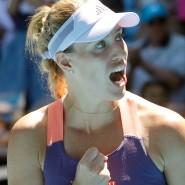 Es läuft wieder besser bei Angelique Kerber bei den Australian Open.