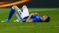 Aus der Traum: Schalke und Daniel Caligiuri sind in der Europa League ausgeschieden.