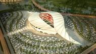 So soll die WM 2022 in Qatar aussehen – aber findet sie auch dort statt?