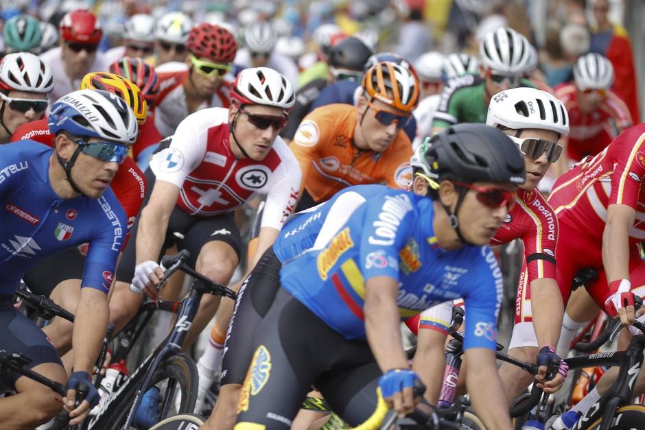 Enges Rennen. Rad-WM in Flandern