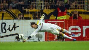 Weidenfeller rettet der Borussia das Achtelfinale