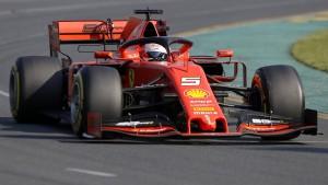 Eine schmerzhafte Niederlage für Vettel