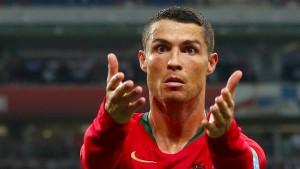 Nur einer schwärmt nicht von Ronaldo