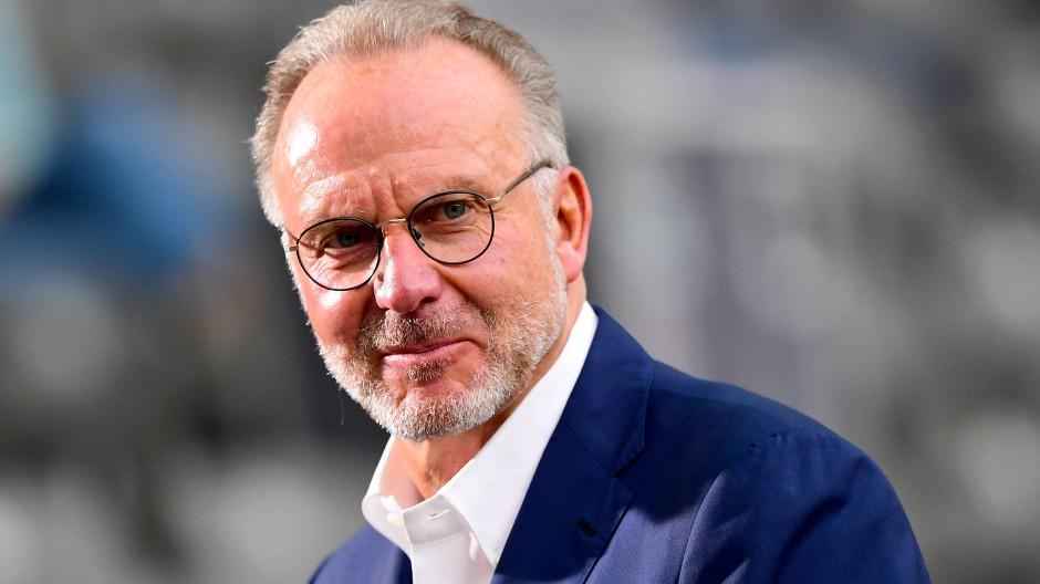 Der Strippenzieher des FC Bayern weiß, bei wem er sich zu bedanken hat: Karl-Heinz Rummenigge