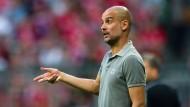 Die Bayern besiegen Guardiola