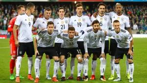 Deutschland spielt bei der WM in Moskau