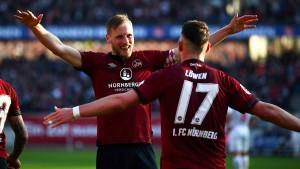 Nürnberg beendet die Niederlagenserie