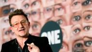 """Geschäft ist Geschäft"": U2-Sänger Bono Vox"