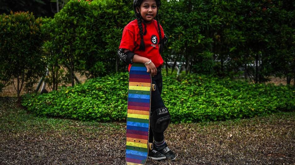 Bei Olympia 2020 in Tokio würde die Indonesierin erst elf Jahre alt sein.