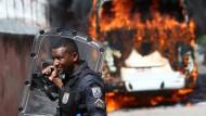 Gewalt bei Räumung einer Favela