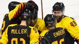 Deutschland sensationell im Eishockey-Halbfinale