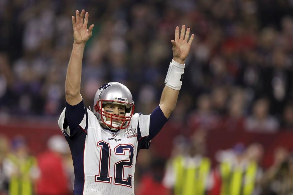 Letztlich Sieger: Brady meistert im Super Bowl eine extrem schwierige Situation