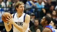 Historischer NBA-Sieg für Nowitzki und Dallas