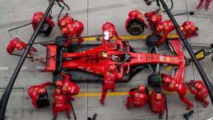 Die rätselhafte Ferrari-Rakete