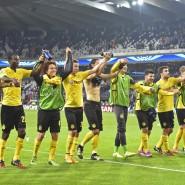 Ein Hoch auf uns: Dortmund bejubelt den zweiten Sieg in der Champions League