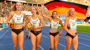 Erfolgreiche Laufbahn für die deutschen Frauen