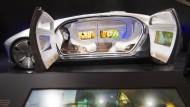 Die Zukunft: Das autonome Auto braucht keinen Formel-1-Piloten mehr