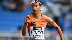 Pinto sprintet an die Spitze