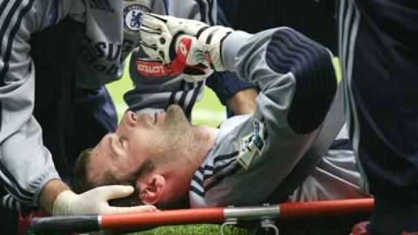 Cech: Kann mich nicht mal an den Anpfiff erinnern