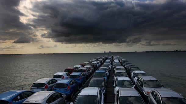 Kein Abnehmer: In der EU werden weniger Autos verkauft