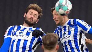 Hertha BSC darf erstmal tief durchatmen