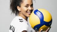Blickt auf eine gute Zeit in Rimini zurück: die deutsche  Spielmacherin Denise Imoudu