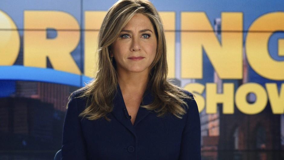 """Jennifer Aniston spielt für Apple: Die Schauspielerin ist seit Anfang November in """"The Morning Show"""" auf Apple TV Plus zu sehen."""
