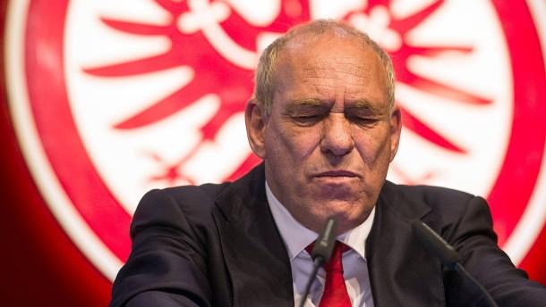AfD-Anzeige gegen Eintracht-Frankfurt-Präsident Peter Fischer