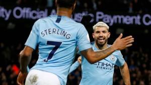 Manchester City bleibt Liverpool auf den Fersen