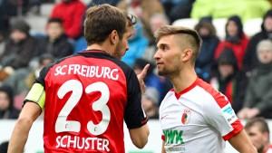 Augsburg gerät in Gefahr
