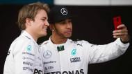 Ich hasse es, hinter Lewis Zweiter zu werden