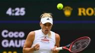 Angelique Kerber überzeugt in Wimbledon auf ganzer Linie.