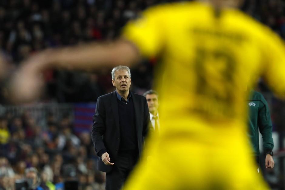 Wieder ohne Erfolg: Lucien Favre erlebt den nächsten Rückschlag mit dem BVB.