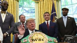 Trumps Ringen um Ansehen im Sport