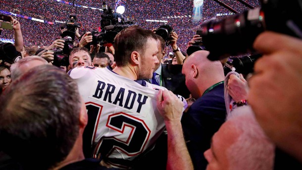 Bradys Reise geht woanders weiter
