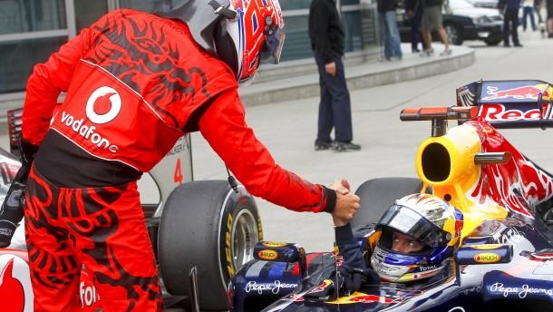 Vettel in einer eigenen Liga