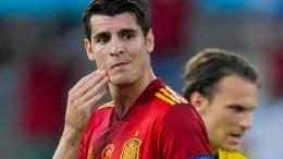 Spanien verzweifelt gegen Schweden