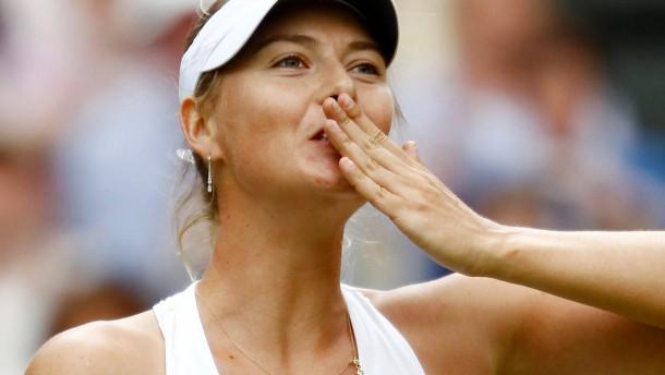 Maria Scharapowa beendet ihre Tennis-Karriere