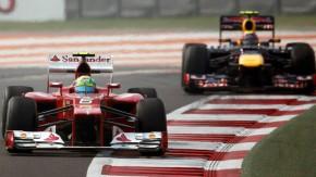 Gleiche Farben, andere Rolle: Massa und Webber sind die Nummer zwei hinter Alonso und Vettel